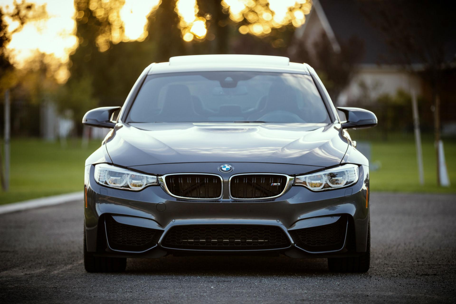 brand new car (BMW)